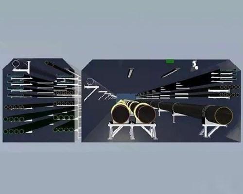 抗震支架组合的步骤结构