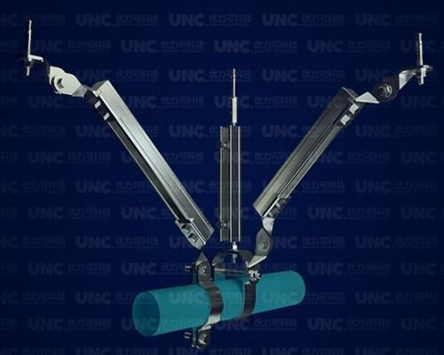 水管单管抗震支架